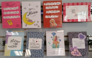 Handcrafted cards & signs