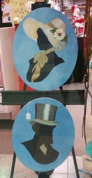 Beautiful cameo paintings by Dianne